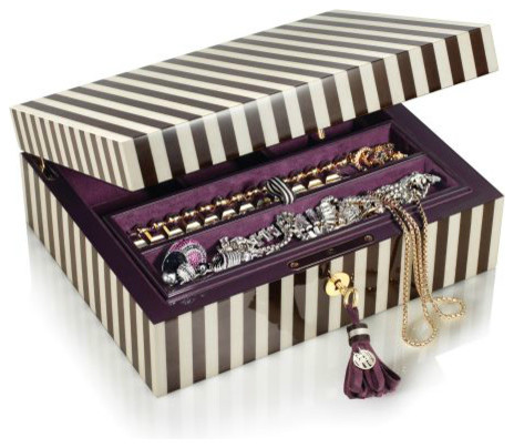 Lacquer Jewelry Box Contemporary Jewelry Boxes And Organizers By