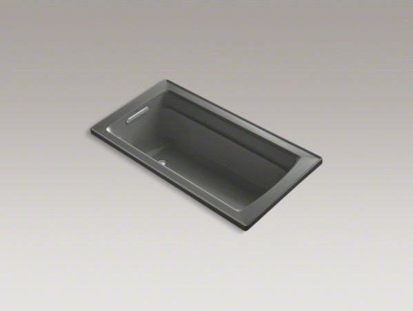 "KOHLER Archer(R) 60"" x 32"" drop-in bath with reversible drain contemporary-bathtubs"