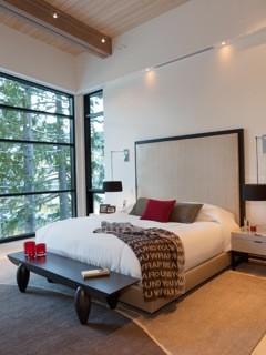Whistler Custom Homes contemporary-bedroom