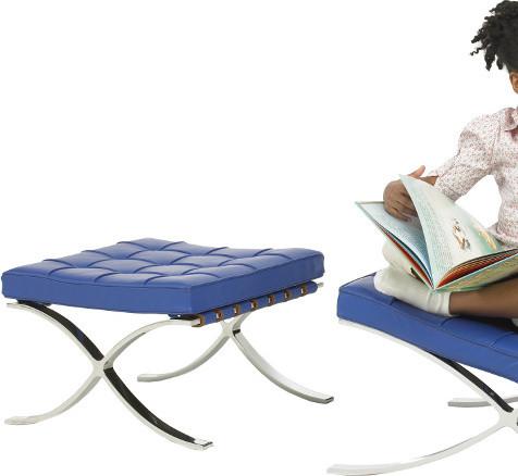 Knoll knoll kids Barcelona Stool modern-footstools-and-ottomans