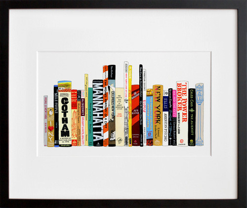 Ideal Bookshelf 364: NYC by Jane Mount contemporary-artwork