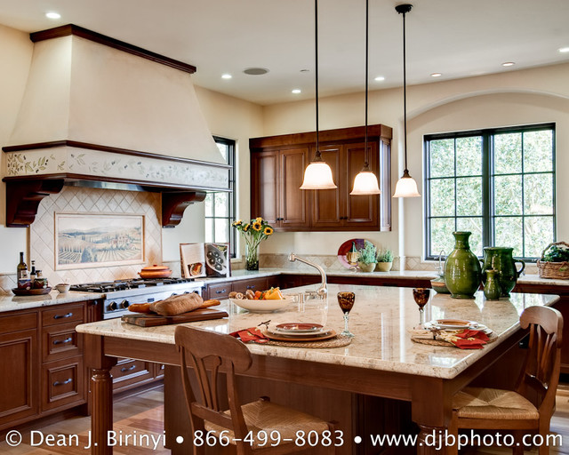 mediterranean kitchen by Dean J.Birinyi