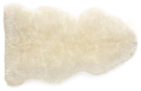 Sheepskin Rug modern-rugs