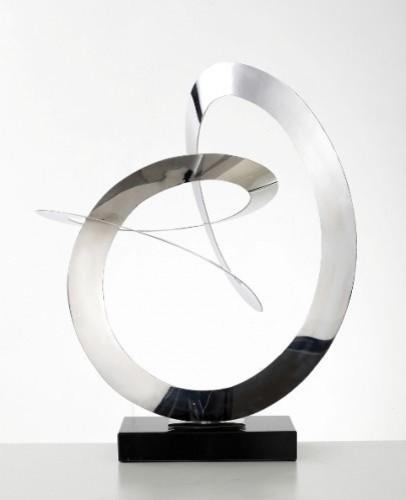 Circumfusion - Metal Sculpture modern-artwork