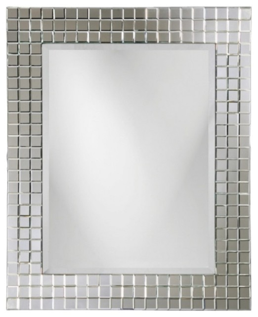... Tile Frame Mirror - Contemporary - Wall Mirrors - by Unique Vanities