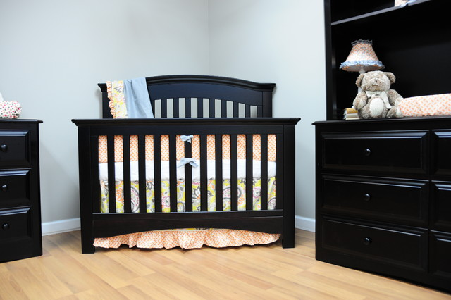Heritage Magnolia Convertible Crib Contemporary Cribs Other Metro By Baby 39 S Dream Furniture