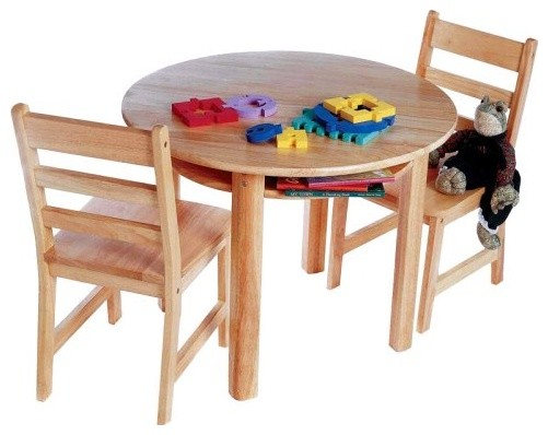 Lipper Childrens Round Table And Chair Set Traditional