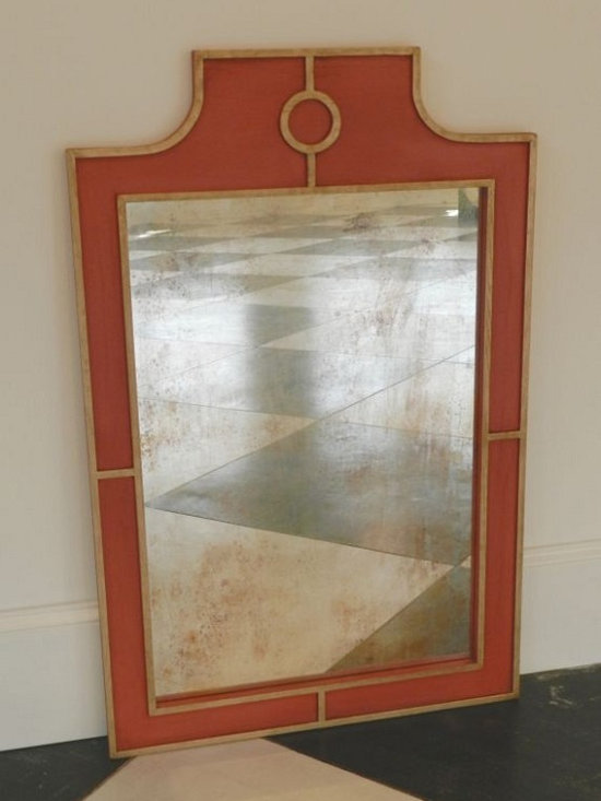 Regency Mirror - Email for more information and custom options