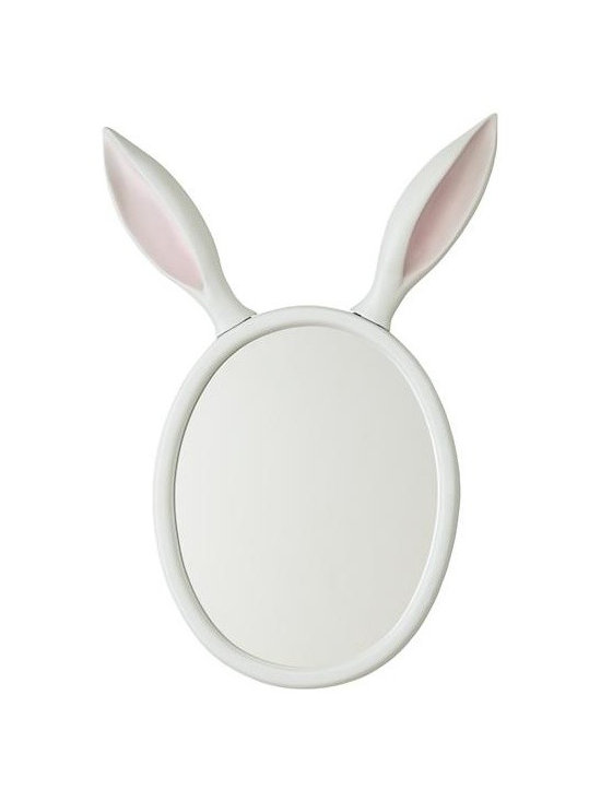 Good Hare Day Wall Mirror -