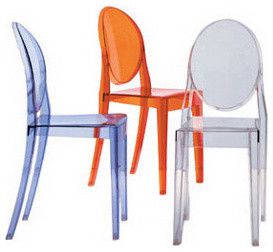 Kartell Victoria Ghost Chair modern task chairs