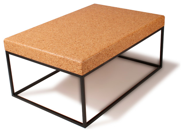 Nimbus Cork Rectangle Coffee Table Modern Coffee Tables Other Metro By Eugene Stoltzfus