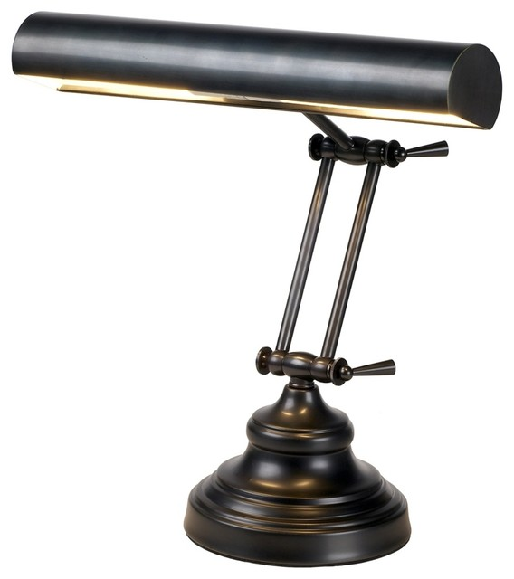 House Of Troy Adjustable Bronze Finish Piano Lamp