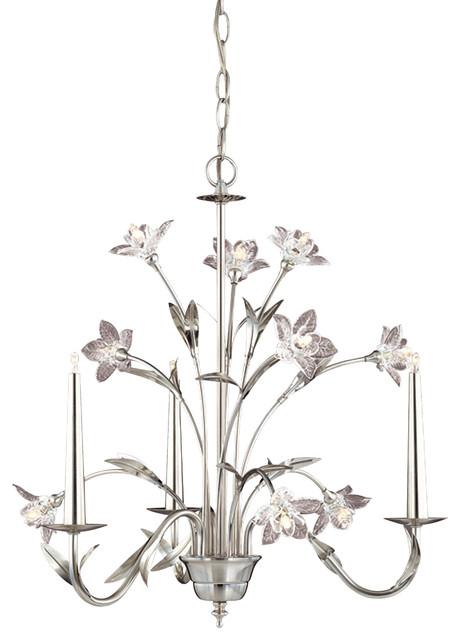 Laura Ashley Lighting Chandeliers : Laura ashley mx glass daffodil mini chandelier
