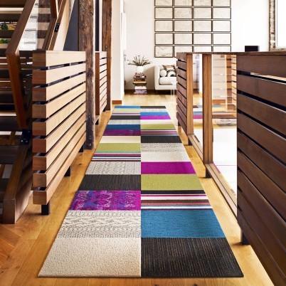 Classic Quilt Carpet Tile Rug Set, Multi - modern - rugs - by FLOR