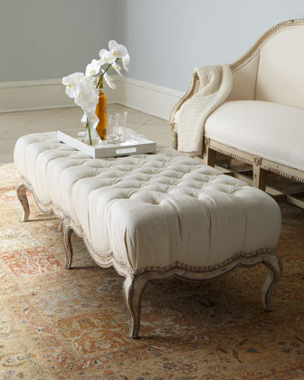 Milania Tufted Ottoman traditional-footstools-and-ottomans