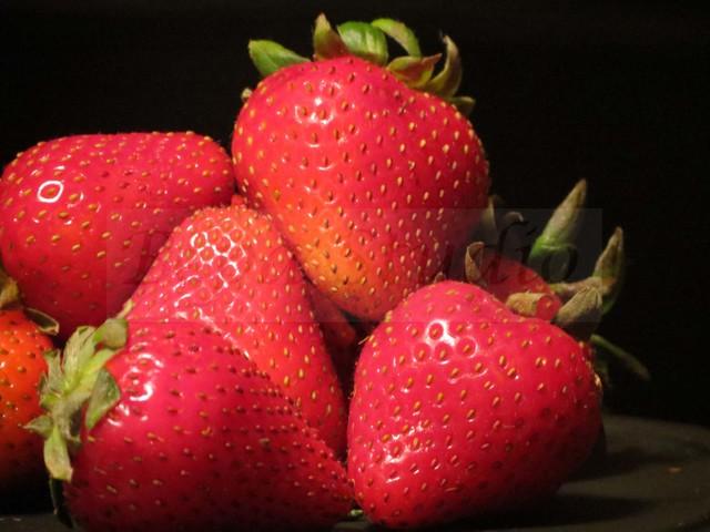 """Strawberries"" - by Bepa Studio traditional-artwork"