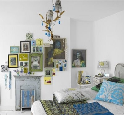 Interesting Wall design eclectic