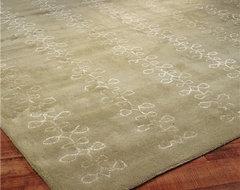 Modern Doodle Hand Tufted Rug modern-rugs