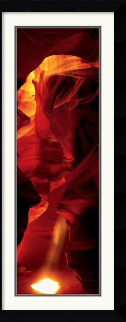 Cave - Antelope Canyon Framed Print traditional-prints-and-posters