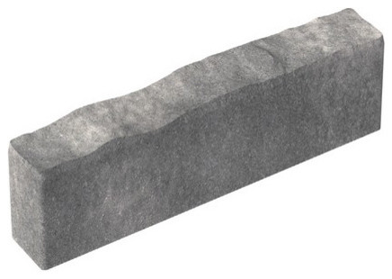 Oldcastle Gray/Charcoal Concrete Calisto Edging fencing