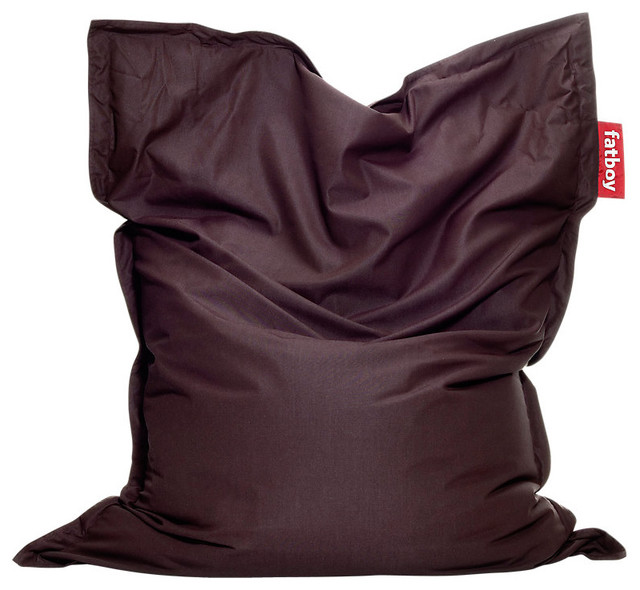 Outdoor Fatboy Aubergine Contemporary Bean Bag Chairs by SmartFurniture