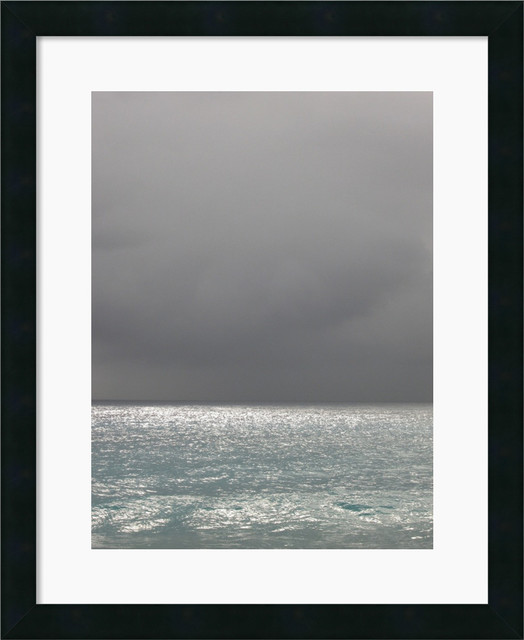 Bleu 6 Framed Print by Brian Leighton traditional-prints-and-posters