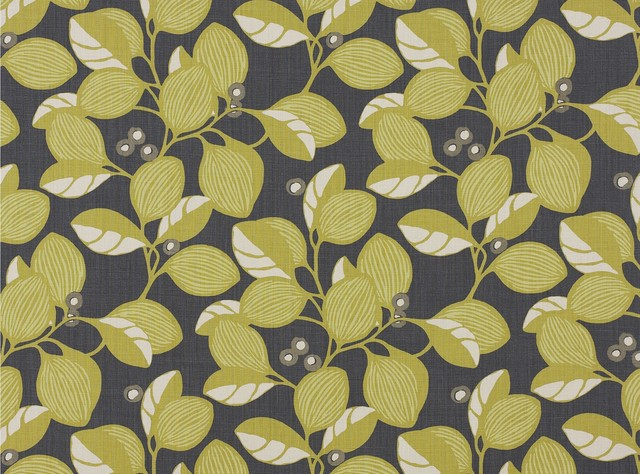 Adelphine Fabric in Wasabi contemporary upholstery fabric