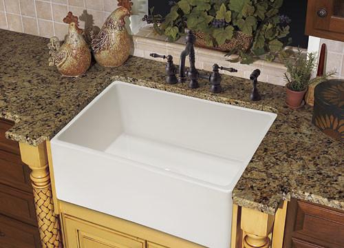 Franke Farmhouse Sink : Franke Sinks Farm House FHK710-30 Fireclay White - Farmhouse - Kitchen ...