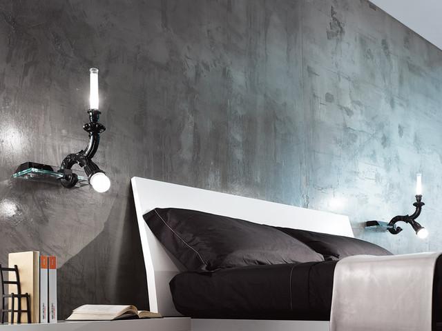 Wood AP 2 Wall Sconce By Minitalux Lighting modern-wall-sconces