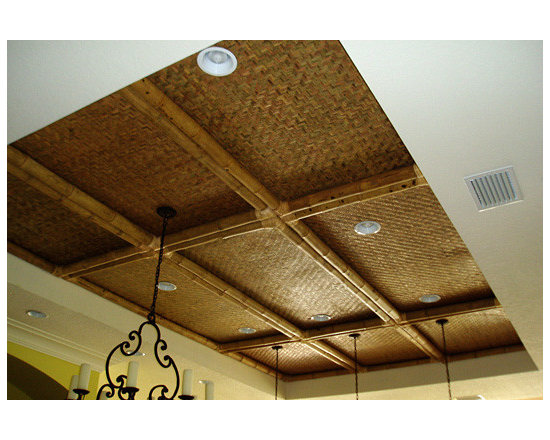 Decorative Boards - Bamboo skin board ceiling treatment