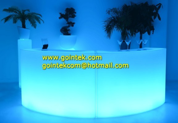 illuminated decoration Led Bar Counter modern-side-tables-and-end-tables