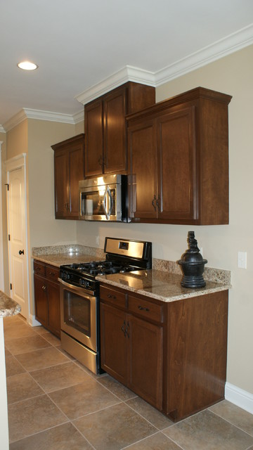 Granite countertops traditional kitchen