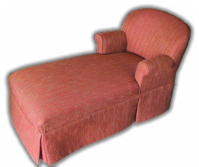 Reupholstered chaise lounge traditional atlanta by for Chaise lounge atlanta