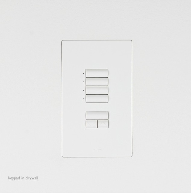 lutron keypads trufig switch plates and outlet covers. Black Bedroom Furniture Sets. Home Design Ideas