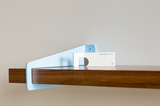 Wall-Stirrup Shelf Brackets - Modern - Display And Wall Shelves - portland - by Quartertwenty