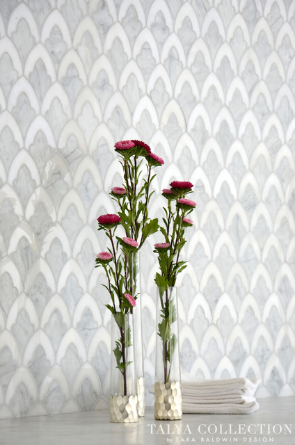 Sophia, Talya Collection by Sara Baldwin for Marble Systems traditional-tile