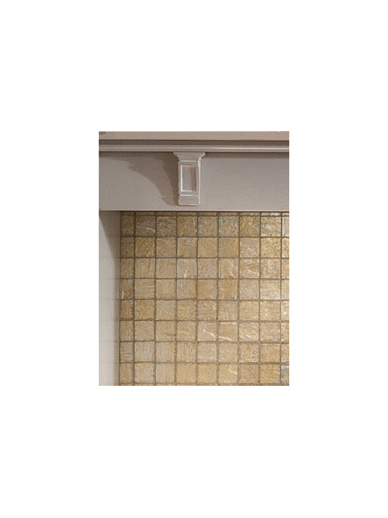 Sterling Corbel - Sterling corbels above the range add a decorative touch above eye level.