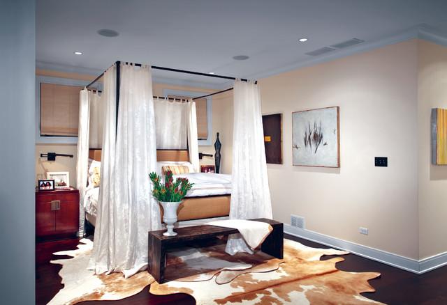 Hyde Park Brownstone traditional-bedroom