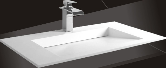 Modern Bathroom Undermount Sinks undermount bathroom sinks vancouver. caxton vitreous china