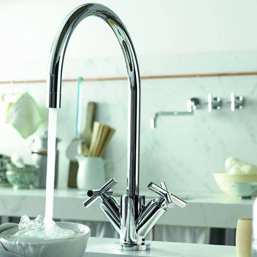 Dornbracht Tara Single Showroom Inc Modern Kitchen Faucets Chicago By Showroom Inc