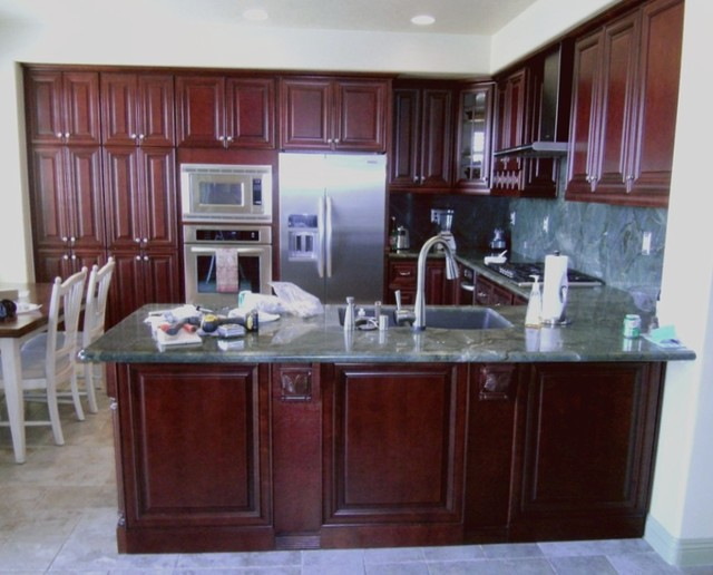 O'Neil Cabinets Cherry kitchen-cabinets