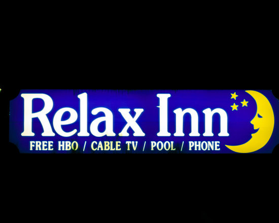 """Relax Inn - C-print, unmanipulated transparency film image, 20""""x30"""" image size, 24""""x34"""" paper size, edition of three c-prints, edition of three pigment prints. Signed, numbered and captioned in ink on the verso."""