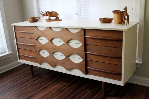 Midcentury Modern Dresser by Revitalized Artistry - Modern ...