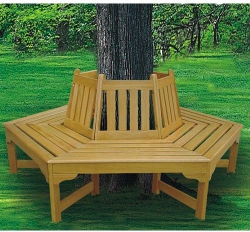 How To Build Benches Around Trees Pdf Plans