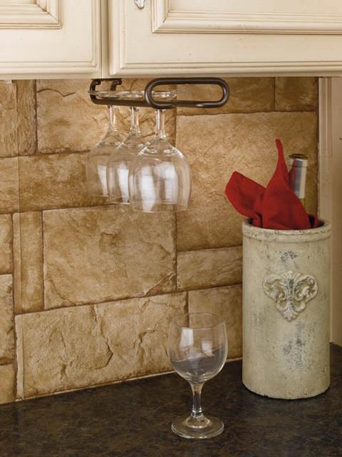 Rev-A-Shelf Stemware Under Cabinet Organizer Wall Accessories - Kitchen Drawer Organizers - by ...