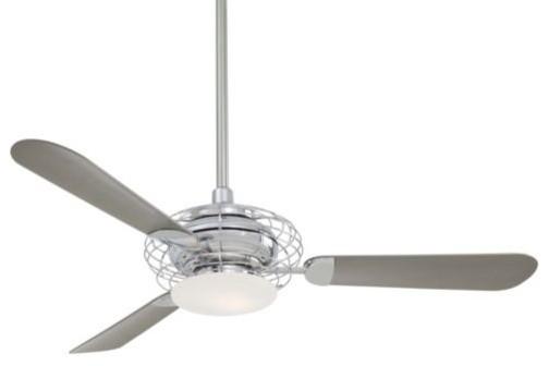 Acero Ceiling Fan with Light by Minka Aire Fans modern-ceiling-fans