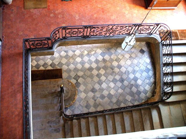 Antique Carrara marble Floors mediterranean-floor-tiles