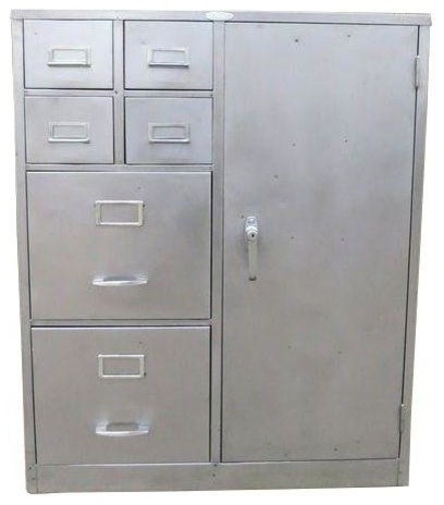 Steelcase Industrial Metal File Cabinet - Modern - Filing Cabinets And ...