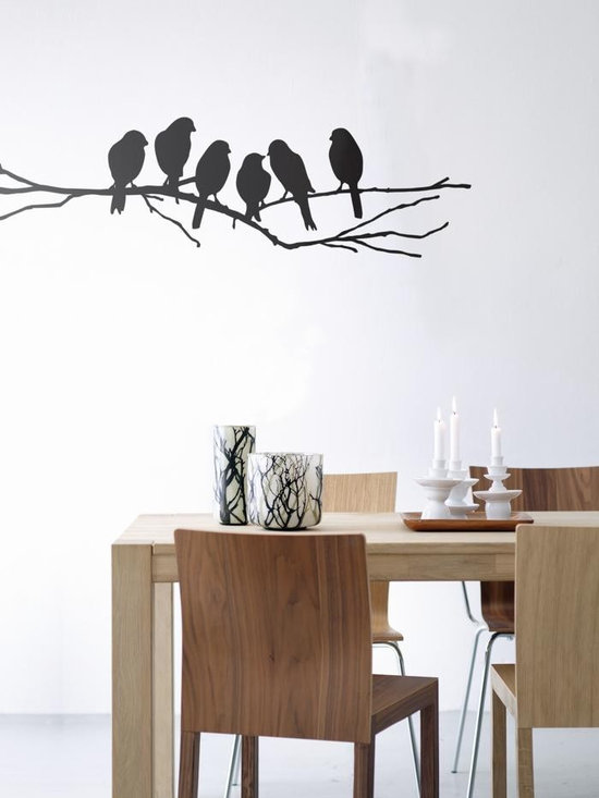 Ferm Living Lovebirds WallSticker - Ferm Living Lovebirds WallSticker