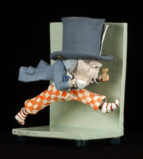 Alice In Wonderland Series of Clay Sculptures eclectic artwork